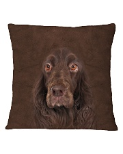 Field Spaniel-Face and Hair Square Pillowcase tile
