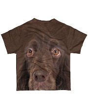 Field Spaniel-Face and Hair All-over T-Shirt back