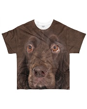 Field Spaniel-Face and Hair All-over T-Shirt front