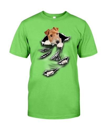 Wire Fox Terrier-Scratch