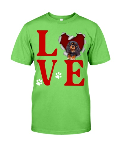 Cavalier King Charles Spaniel -Love Torn Heart