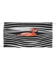 Flamingo Stripes FM Cloth face mask front