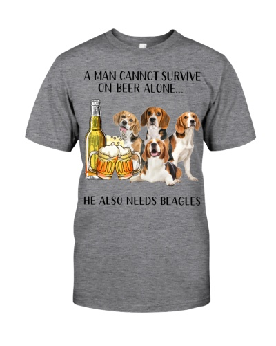 He Also Needs Beagle And Beer