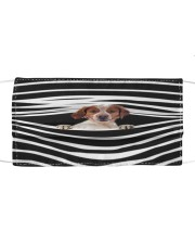 Brittany Stripes FM Cloth face mask front