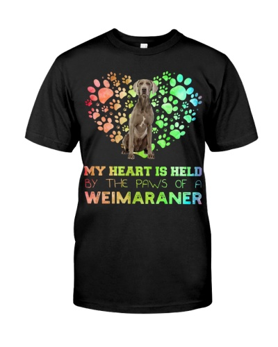 Weimaraner Heart Paw