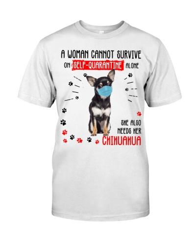 Quarantine Alone With Chihuahua