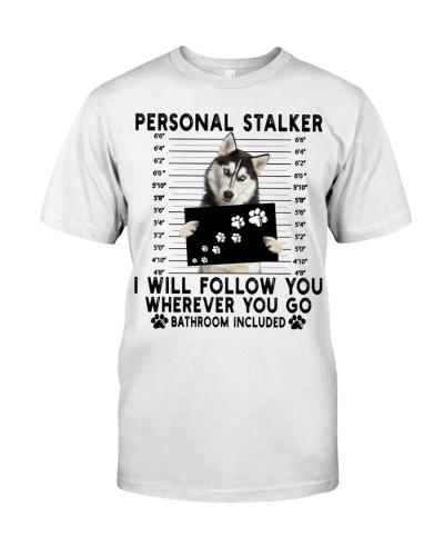 Husky Funny Personal Stalker