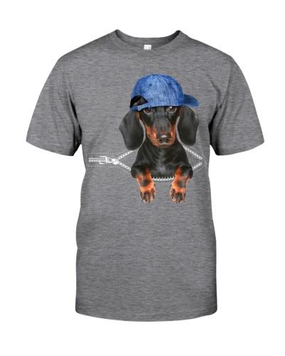Dachshund-Hat-Zipper