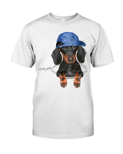 Dachshund-Hat-Zipper