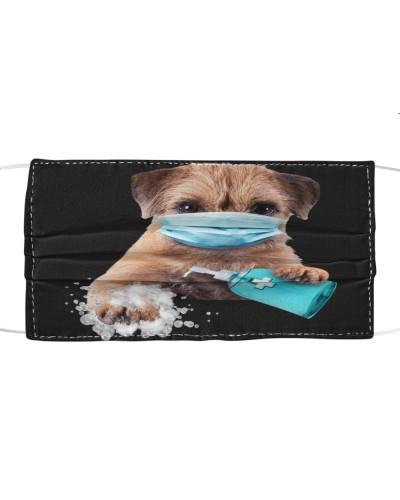 Border Terrier-Face Mask-Wash