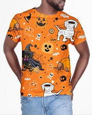 Dachshund Costume Halloween FM All-over T-Shirt aos-all-over-T-shirt-lifestyle-front-04