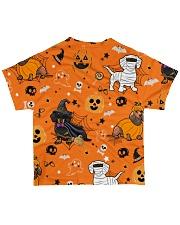 Dachshund Costume Halloween FM All-over T-Shirt back