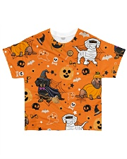 Dachshund Costume Halloween FM All-over T-Shirt front