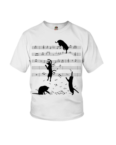 Cat and Sheet Music
