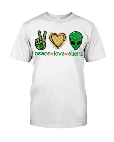 Peace Love Aliens