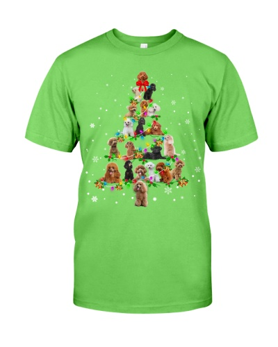 Poodle - Christmas Tree