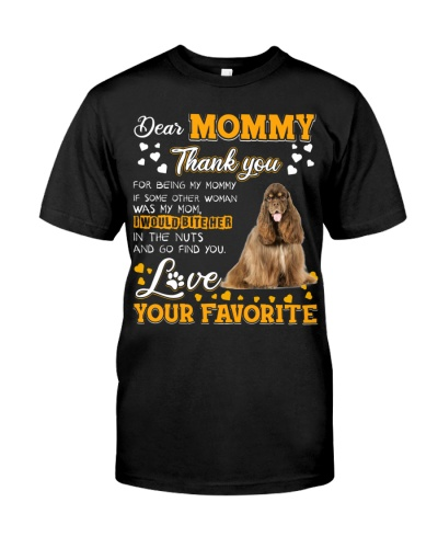 Dear Mommy-American Cocker Spaniel 3