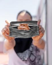 Hamster Stripes FM Cloth face mask aos-face-mask-lifestyle-07