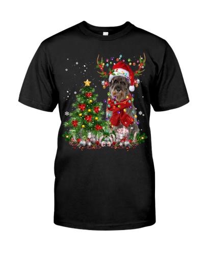 Giant Schnauzer-Reindeer-Christmas