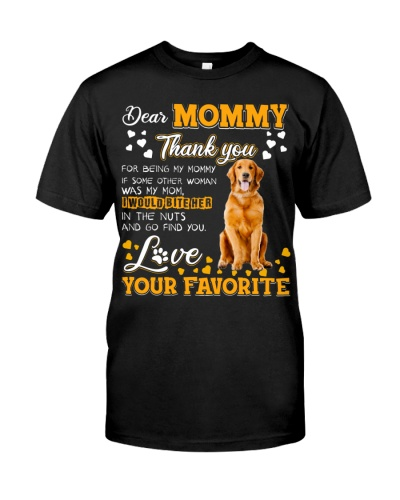 Dear Mommy-Golden Retriever