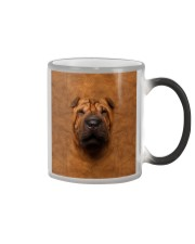 Shar Pei-Face and Hair Color Changing Mug tile