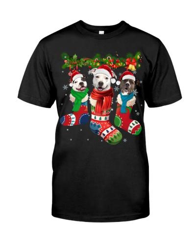 American Pit Bull Terrier-Christmas Sock