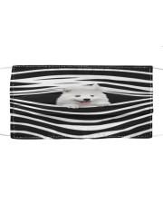 Samoyed Stripes FM Cloth face mask front