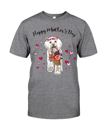 Bichon Frise-Happy Mother's Day