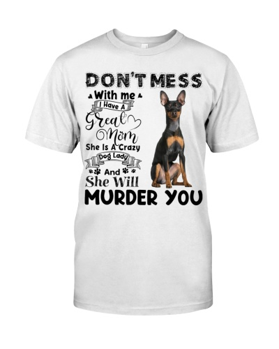 Miniature Pinscher-I Have Great Mom
