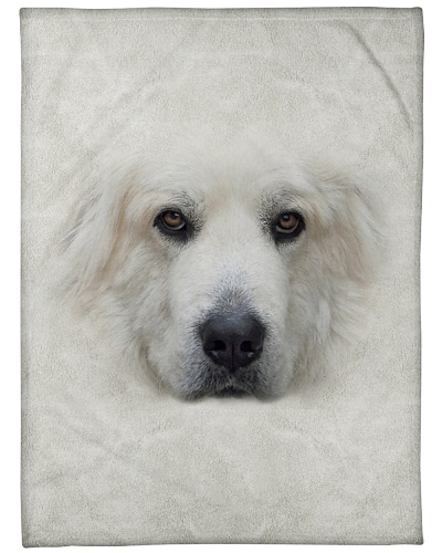 Great Pyrenees Face 3D