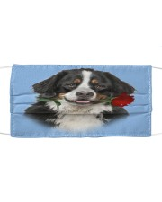 Bernese Mountain Rose FM Cloth face mask front
