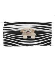Labrador Stripes FM Cloth face mask front