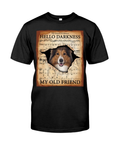 Shetland Sheepdog Hello Darkness