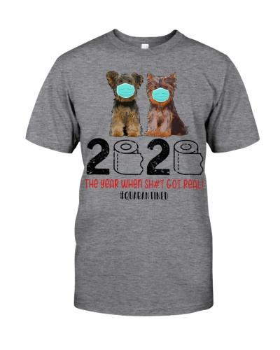 Yorkshire Terrier 2020 Quarantined