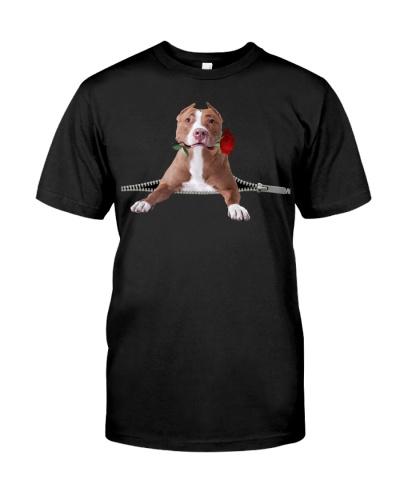Pitbull-Rose-Zipper