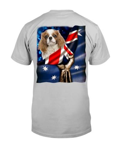 Flag of Australia-Cavalier King Charles Spaniel