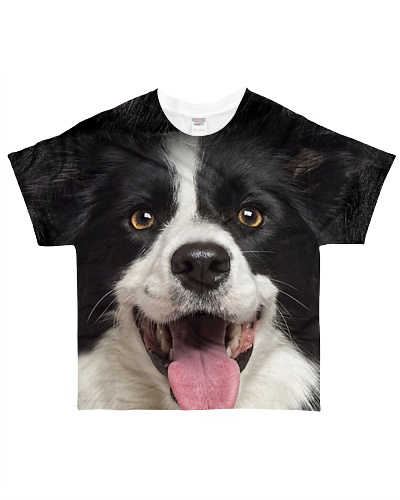 Border Collie-Face and Hair