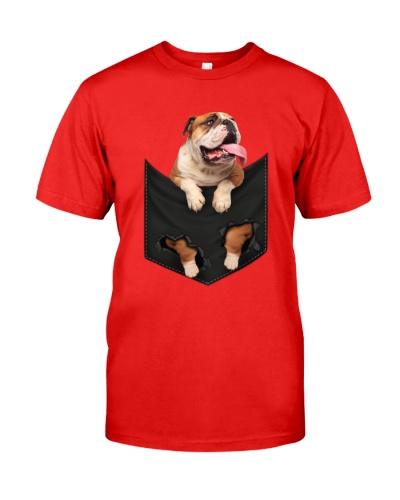 English Bulldog-Pocket
