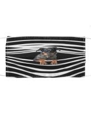 Beauceron Stripes FM Cloth face mask front