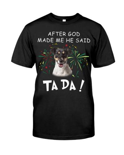 Jack Russell Terrier-God Said Ta Da