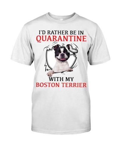 Quarantine With My Boston Terrier