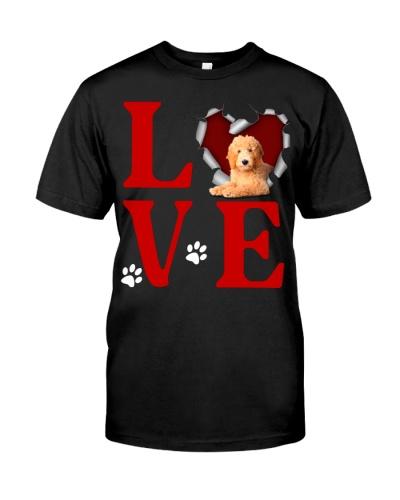 Goldendoodle - Love Torn Heart