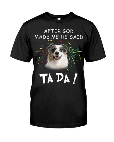 Australian Shepherd-God Said Ta Da