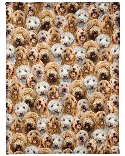 Goldendoodle Full Face