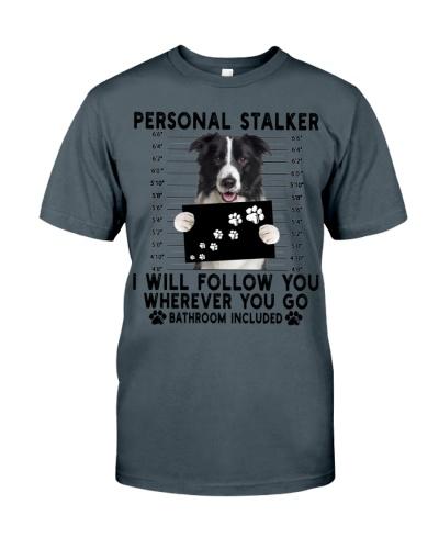 Border Collie  Funny Personal Stalker