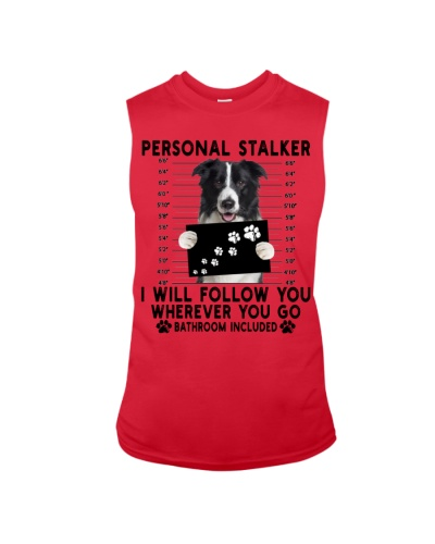 Border Collie  Funny Personal Stalker
