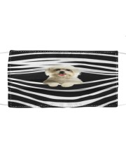 Maltese Stripes FM Cloth face mask front