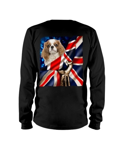 Cavalier King Charles Spaniel-The Union Jack