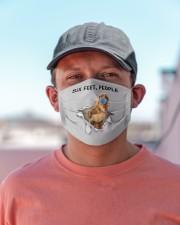 Cocker Spaniel Six Feet People FM Cloth face mask aos-face-mask-lifestyle-06