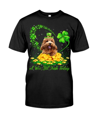 Poodle-A Wee Bit Irish Today